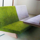 FLANNEL SOFA PENTA 2脚 美品です - 家具
