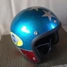 SHM ラメフレーク ヘルメット