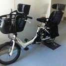 前後子供乗せ付き電動自転車✳︎使用歴1年の画像