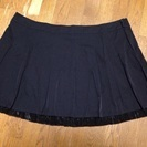 【超大きいサイズ】黒スカート【W120㎝】