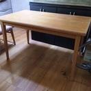 テーブルセットお譲りします。