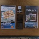 【売約済】PSP用 GPSレシーバー&MAPLUSポータブルナビ3...