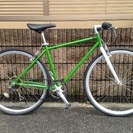 【販売済】【234】クロスバイク  700×28C  シマノ製外...