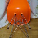 イームズチェア オレンジ リプロダクト - 家具