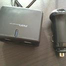 増設シガーライターソケット2口  未使用の画像
