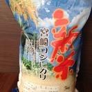 宮崎県産コシヒカリ新米5kgお譲りします