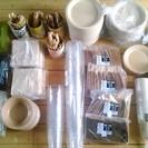【お得なまとめ販売】紙コップ、皿、カトラリーの大量セット!!