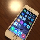 【終了しました】iPhone5S ソフトバンク 16GB ゴール...