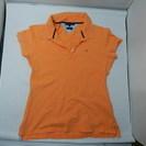 トミーフィルガー 半袖ポロシャツ オレンジ 値段交渉大歓迎です。