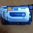 引渡済:SONY デジタルビデオカメラレコーダー 説明書付