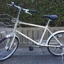 新品!無印良品の自転車。20型自転車の画像
