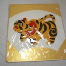 日本人形風色紙 虎の置物柄
