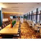 神戸学院大学ポートアイランドキャンパス内レストランでのホール接客