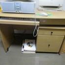キーボード収納型 パソコン用デスク(100.5cm×68.5cm×...