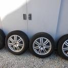 交渉中(値下げ)17インチ スタッドレスタイヤ 四本セット