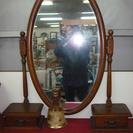 家具卸廃業未使用新品  鏡・置きミラー 。イタリー製 チェ…