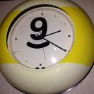 103)ビンテージ!ネオンライト壁掛け時計