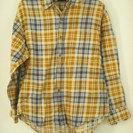 【ユニクロ】チェックシャツ Mサイズ