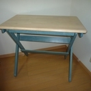 木製の机 (別出品でOAチェアーも...