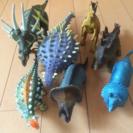 恐竜フィギュア7体