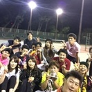 テニス愛好会の画像