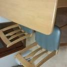 テーブルの大きさ120×75 椅子4脚