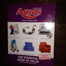 184)英Argosカタログ本、古本