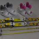 子供用スキー用品一式