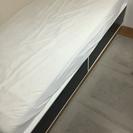 IKEA ベッド 横98cm×縦207cm×高さ45cm 広収納有り