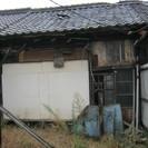 激ぼろ倉庫 廃墟かな 月1000円、1年分前払い、 自分達で治して...