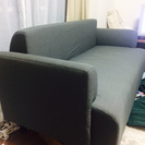 【IKEA】2人がけソファー【使用期間2ヶ月未満】の画像