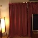遮光カーテン 左右2枚を2セット