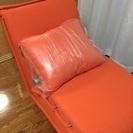リクライニングソファーベッド 一人用 の画像