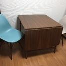 イームズチェア2脚&バタフライダイニングテーブルセットの画像