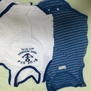fbaff1d8e7885 交渉中 値下げ子供、ベビー洋服サイズ70と80 オーバーオール2点セット ...