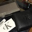Calvin Klein カルバンクライン 二つ折り財布 ブラック