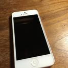 au iPhone5 ホワイト 32GB 白ロム