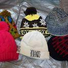 帽子各種ニットベレーキャップ1点100円