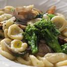 生パスタと春の野菜を使ったイタリア家庭料理教室