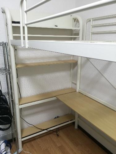 ニッセンロフトベッド (ゆうじ) 新羽島のベッド《ロフトベッド》の中古