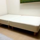 期間限定【美品】 人気商品 脚付きマットレス シングルベッド