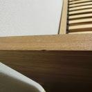 【無印良品】シングルベッドフレーム+ヘッドボード - 売ります・あげます