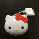 ハローキティiPhone4s充電器