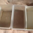 プラスティック製小型収納ボックス ...