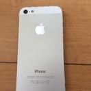iPhone5 32GB シルバー au