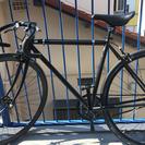Fuji feather フェザー 黒 ピストバイク