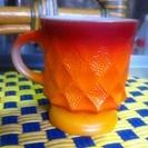 1980年以降製造 ファイヤーキング キンバリーマグカップ オレン...