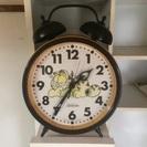 ガーフィールド 巨大目覚まし時計
