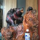 木彫り 熊