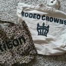 RODEO CROWNS  kitson トートバッグ